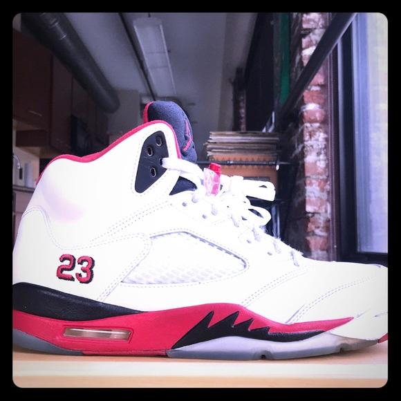 3e63e7381b8 Jordan Other - Air Jordan 5 Retro Red High